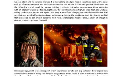 WHY WE SEEK PROFESSIONAL HELP WITH PTSD